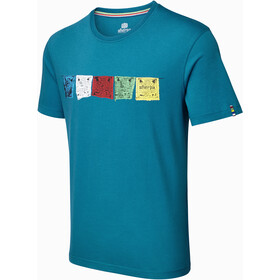 Sherpa Tarcho T-shirt Homme, raja blue